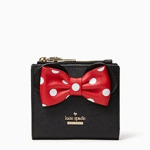NWT Kate Spade ♠️ minnie mouse ksny Wallet